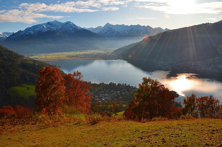 Zell am See im Herbst