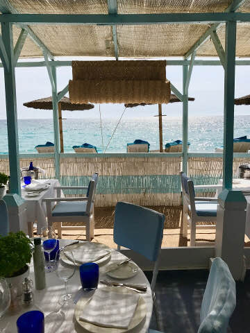 Marbella Club Hotel Beach Restaurant