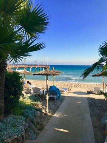 Marbella Club Hotel der Strand