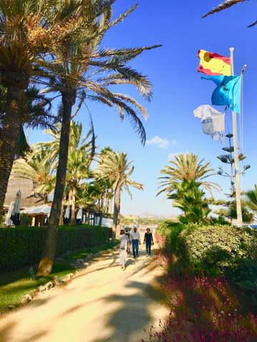 Marbella Club Hotel Strandpromenade