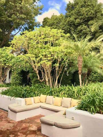 Marbella Club Hotel Garten