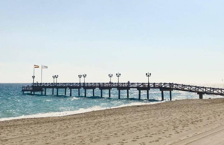 Marbella Club Hotel Seebrücke
