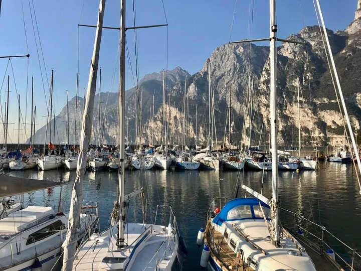 Riva del Garda Italien Segeln