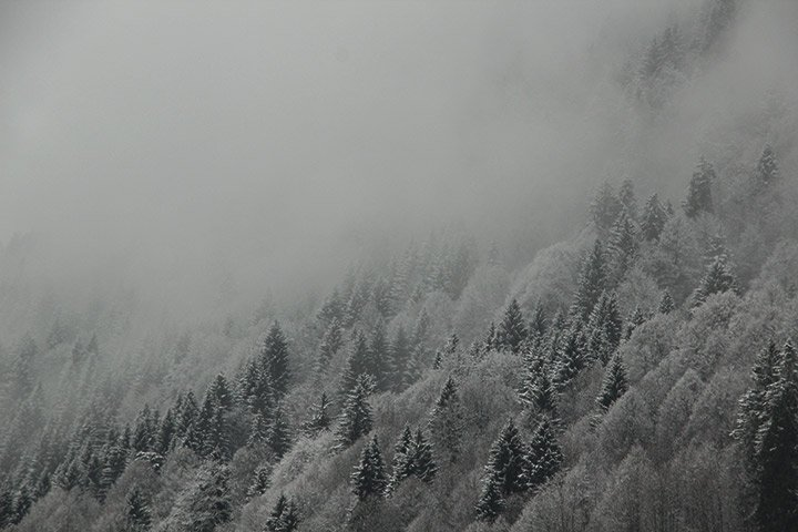 Yoga im Allgäu im Winter