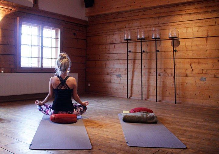 Yoga im Allgäu im Hubertus Hotel