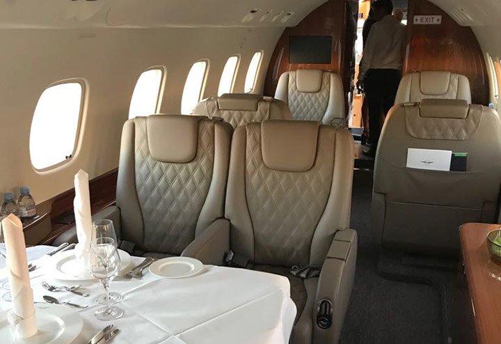 Privatflugzeug mieten