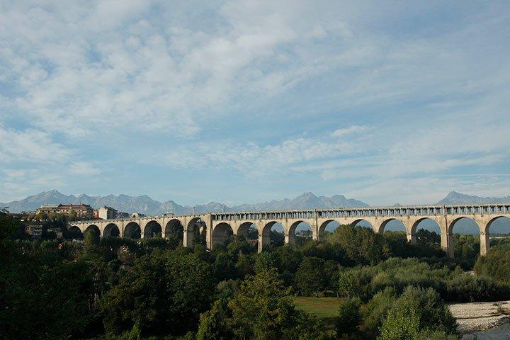 Berge und Wandern um Cuneo