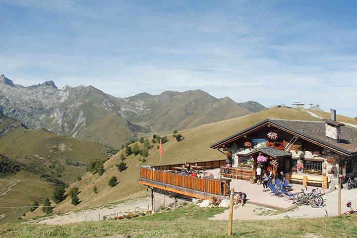 Radtour im Piemont in Italien