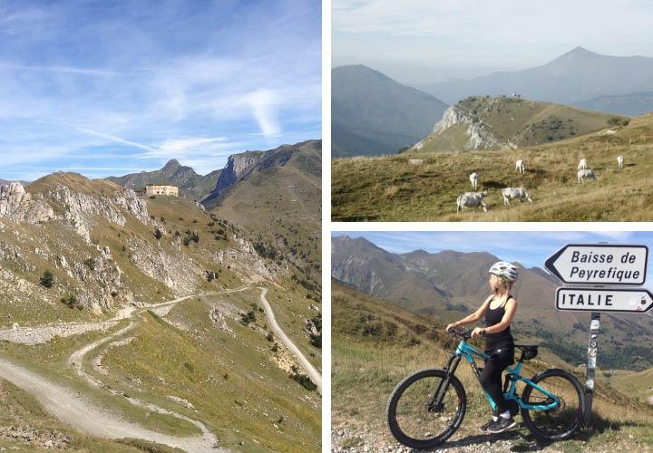 Radwege in Italien im Piemont
