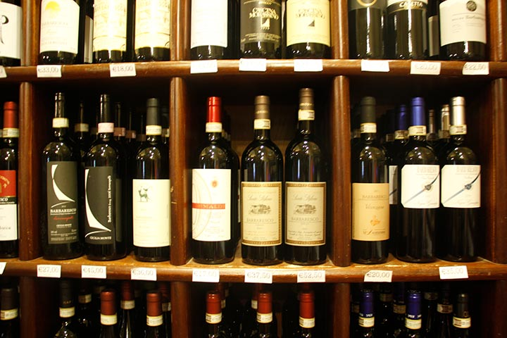 Piemont Wein