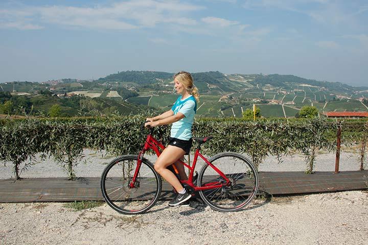 Radfahren im Piemont