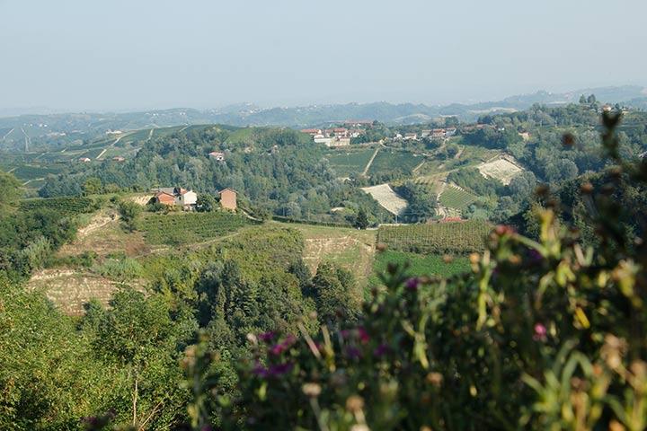 Wanderung im Piemont