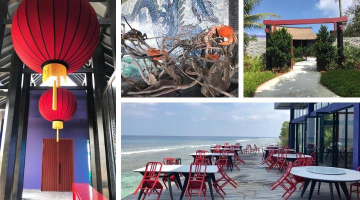 Asia Küche im Sea Dragon Restaurant auf den Malediven