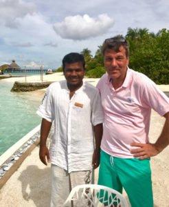 Butler Malediven