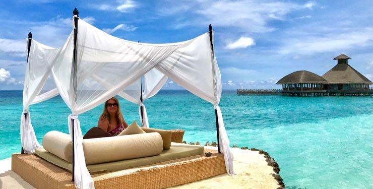 Huvafen Fushi Maldives | High-End-Luxus | Erfahrungsbericht