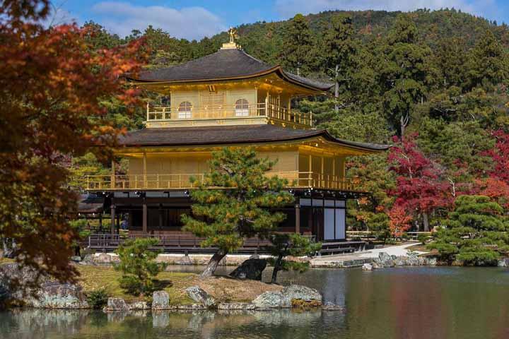 Kinkadu-ji Tempel Kyoto