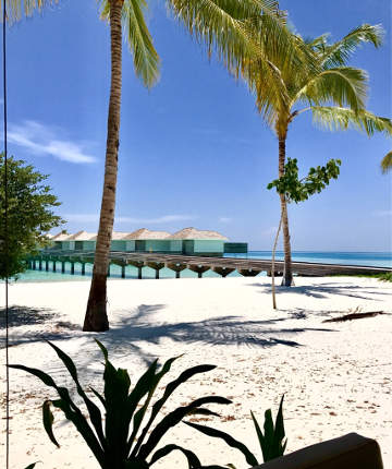 Kandima Maldives Wasser Bungalows