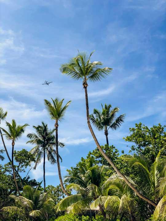 Privatflugzeug zu den Seychellen
