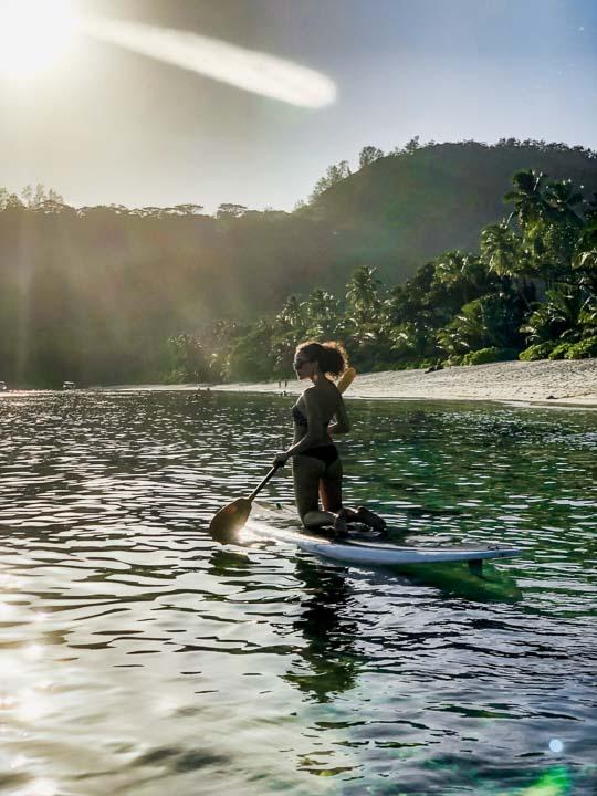 Wassersport und SUP Seychellen Inselurlaub