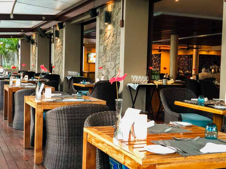Restaurant im Kempinski Baie Lazare Mahe Seychellen