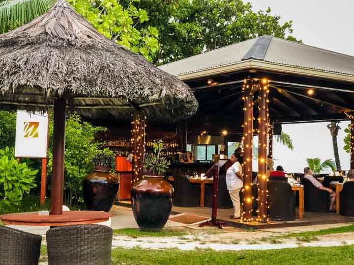 traumhaftes Luxus Strandrestaurant